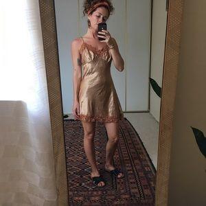 lani • silky nightgown slip dress